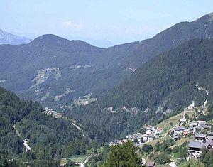 Palù del Fersina - the town of Palù del Fersina