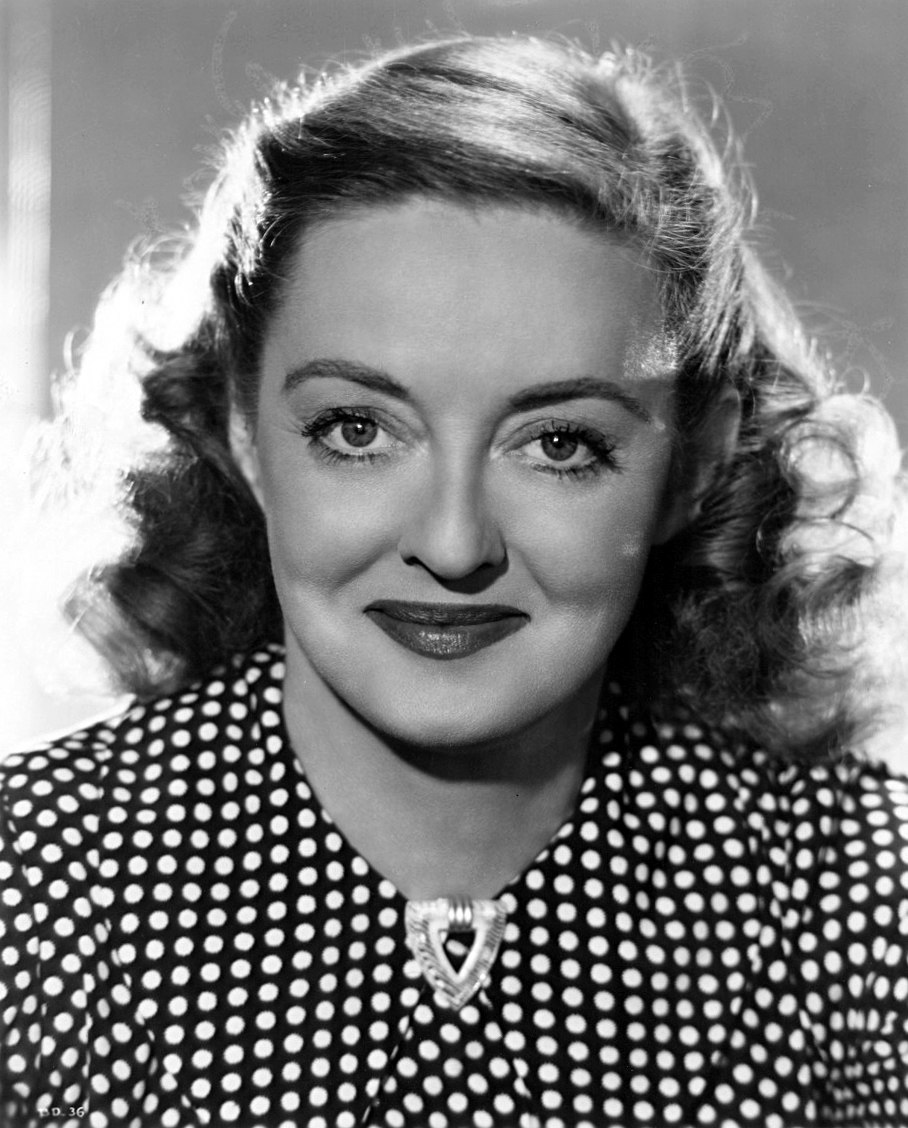 Bette Davis - portrait