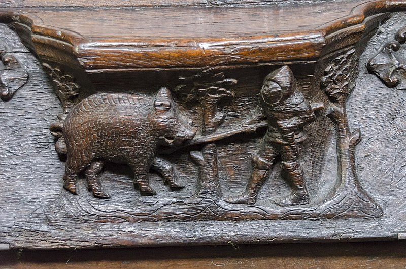 File:Beverley, St Mary's church, misericord N6 (24794243883).jpg