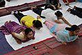 Bhujangasana - International Day of Yoga Celebration - NCSM - Kolkata 2015-06-21 7385.JPG