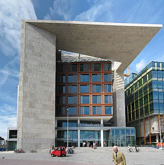 Oosterdokseiland - Amsterdam Central Library on Oosterdokseiland