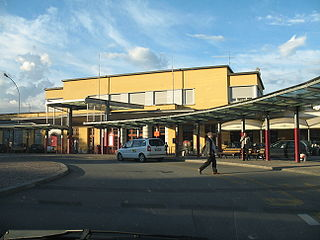 Biella San Paolo railway station Italian railway station