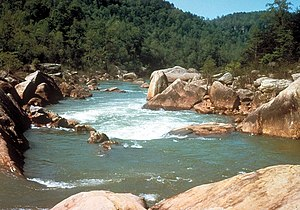Big South Fork National River and Recreation Area - Image: Big South Fork Cumberland 2