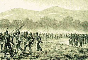 Palembang Highlands Expeditions - Dutch troops in Goenoeng Maraksa
