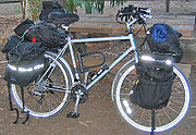 A type of touring bicycle