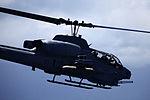 Birds of paradise, Marine attack, transport helicopters take flight over Hawaiian Islands 130613-M-MM918-013.jpg