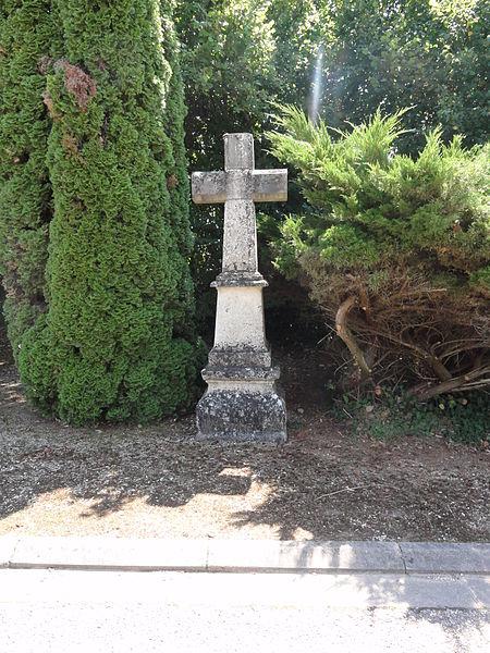 Bislée (Meuse) croix de chemin