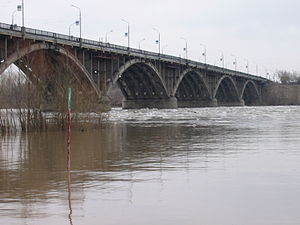Biysk - A bridge in Biysk