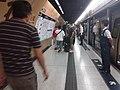 Black dark night 香港反對逃犯條例 Anti-HK bill demo against extradition bill protect MTR Station visitors July 2019 SSG 09.jpg