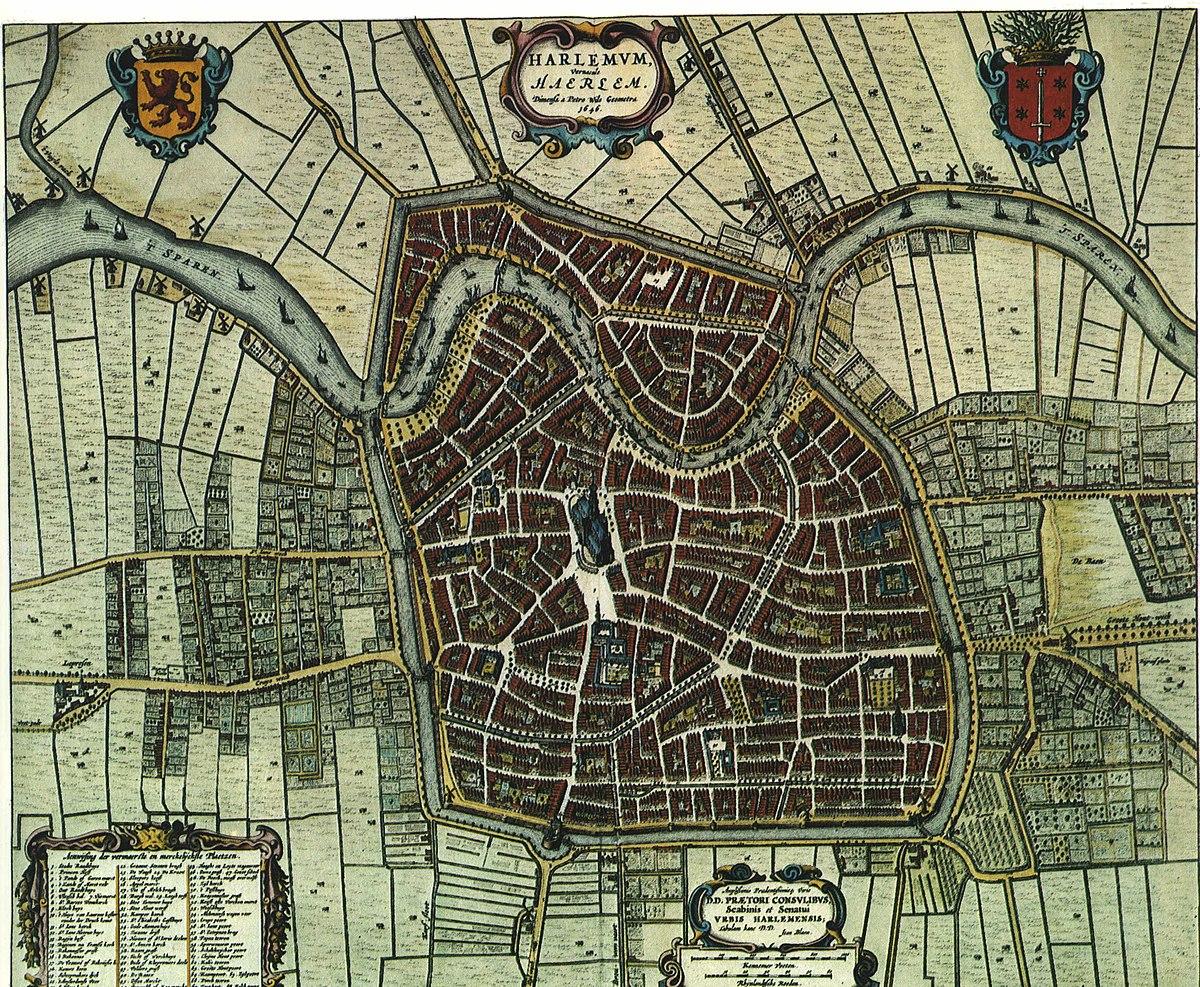 Geschiedenis Van Haarlem Wikipedia