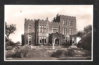 Bleak House (pictured in the 1920s) in Broadstairs, Kent, where Dickens wrote some of his novels Bleakhouse1920c.jpg