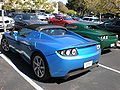 Blue & green Tesla Roadsters rear.JPG