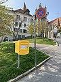 Boîte aux lettres à Lausanne à proximité du musée MUDAC.jpg