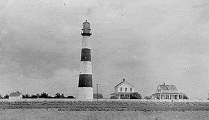Point Bolivar Light - Port Bolivar Lighthouse
