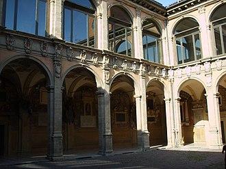 Archiginnasio of Bologna - Image: Bologna, Archiginnasio 04
