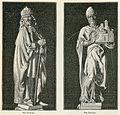 Bologna chiesa di S Domenico Statue allArca del Santo San Fioriano e San Petronio.jpg
