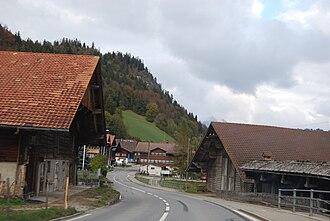 Boltigen - Boltigen village