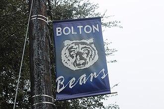 Bolton High School (Louisiana) - Bolton Bears insignia