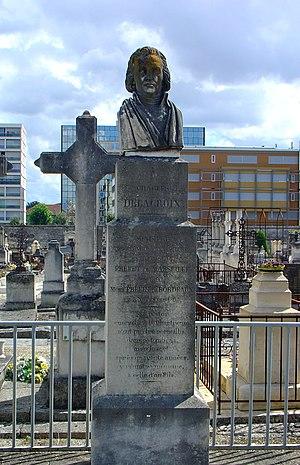Charles-François Delacroix - A bust of Charles-Francois in Bordeaux