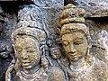 Borobudur - Divyavadana - 077 N, Rudrayana after his Ordination (detail 4) (11706799076).jpg
