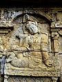 Borobudur - Lalitavistara - 011 E, The Gods venerate the Bodhisattva (detail 3) (11247868265).jpg