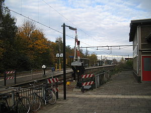 Boskoop railway station - Image: Boskoop station