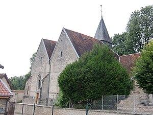 Bossancourt - Image: Bossancourt église 2
