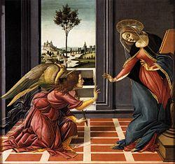 Sandro Botticelli: Cestello Annunciation