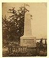 Boundary monument at Point Roberts - Capt. J.C. Prevost, R.N., Capt. G.H. Richards, R.N., Lt. Col. J.S. Hawkins, R.E., H.B.M. Commssrs. LCCN2005680440.jpg