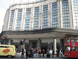Brussels Central Station - Image: Bréissel Gare Centrale