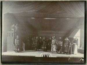 Bröllopet på Ulfåsa, Svenska teatern 1905. Föreställningsbild - SMV - H14 033.tif