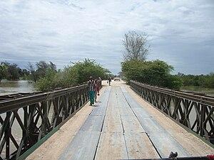 Xangongo - Image: Brücke Xangango