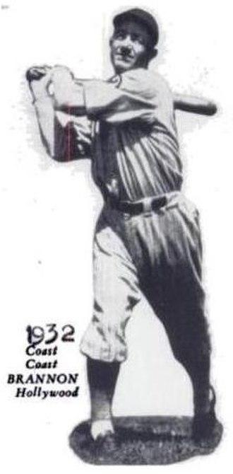 Otis Brannan - Image: Brannan baseball card