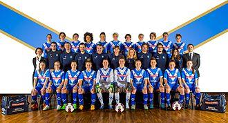 A.C.F. Brescia Calcio Femminile - Brescia Calcio Femminile Team, season 2015-2016.