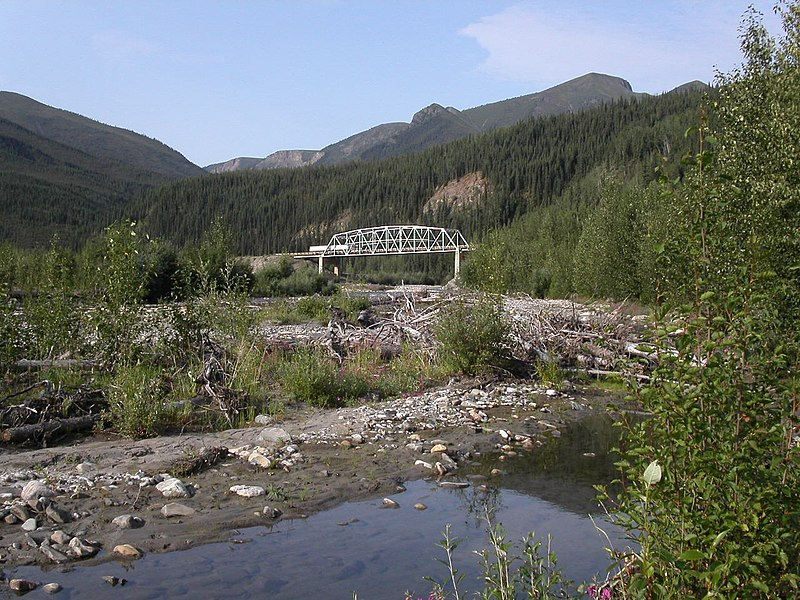 File:Bridge between Summit Lake and Toad River - panoramio.jpg
