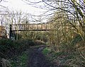 Bridge over old Railway Trackbed, Wolverhampton - geograph.org.uk - 688097.jpg
