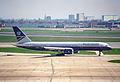 British Airways Boeing 757; G-BMRD@LHR;13.04.1996 (4905895943).jpg