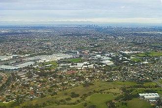 Broadmeadows, Victoria - Aerial view of Broadmeadows (2017)