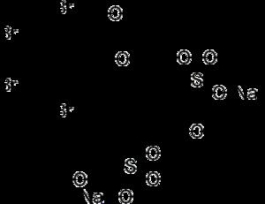 Bromsulphthalein - Image: Bromsulphthalein