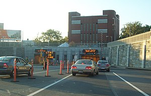 Brooklyn–Battery Tunnel - Brooklyn portal