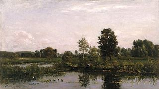 ''A Bend in the River Oise''