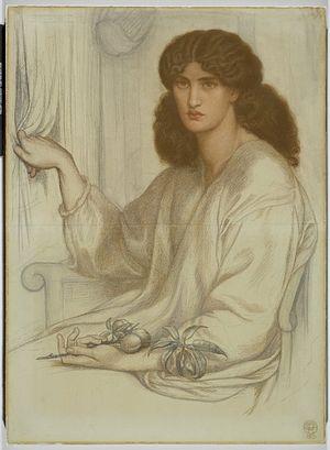 Brooklyn Museum - Silence - Dante Gabriel Rossetti