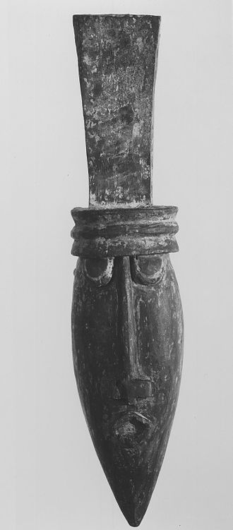 Water spirit - Water Spirit mask from the Igbo people (Brooklyn Museum)