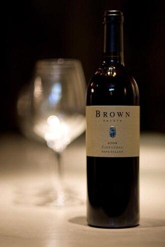 Brown Estate - Brown Estate 2008 Napa Valley zinfandel