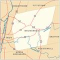 Brunswick, New York Map2.png