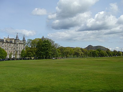 How to get to Bruntsfield Links with public transport- About the place