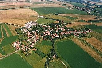 Bučina (Ústí nad Orlicí District) - Air view