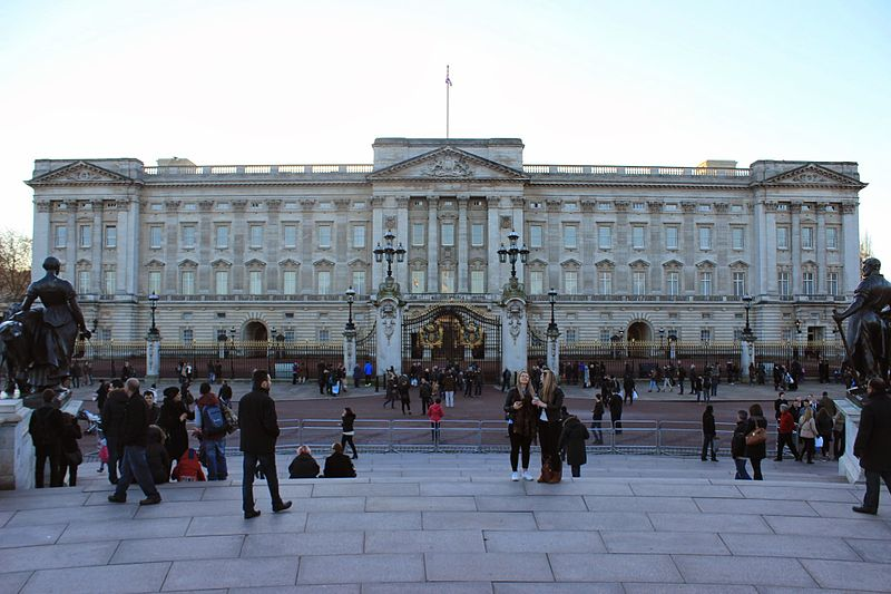 File:Buckingham Palace Evening.JPG