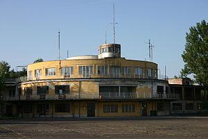 Budaörs Airport - Terminal building in 2012