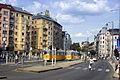 Budapest 11, Moricz Zs Square, Bartók Béla street, Hungary.jpg